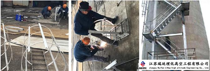 深圳烟囱安装公司,烟囱安装