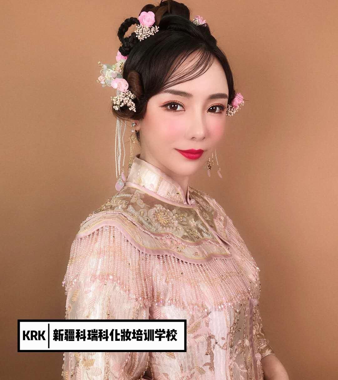 昌吉市正规化妆培训有哪些 新疆科瑞科文化传媒供应