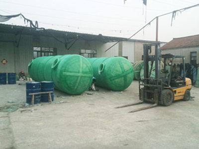 南通玻璃钢化粪池尺寸 通州区兴东兴林玻璃钢制品供应