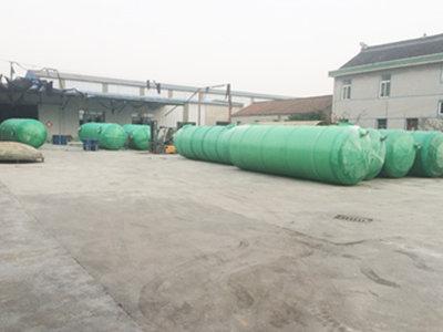 南通玻璃钢化粪池厂家 通州区兴东兴林玻璃钢制品供应