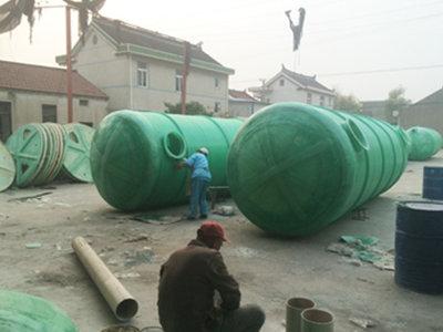 南通玻璃钢化粪池 通州区兴东兴林玻璃钢制品供应