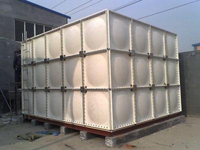 南通玻璃钢水箱价格表 通州区兴东兴林玻璃钢制品供应