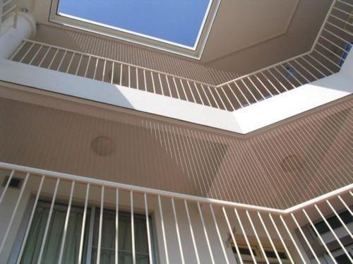 阳台防护窗 厦门中港豪华装饰工程供应