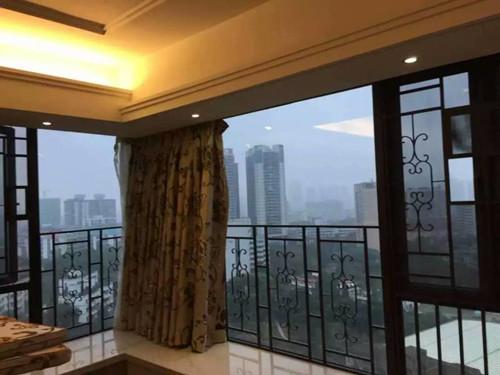 陽臺隱形玻璃窗 廈門中港豪華裝飾工程供應