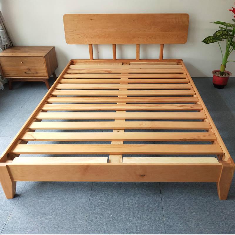 广东实木床订做,实木床