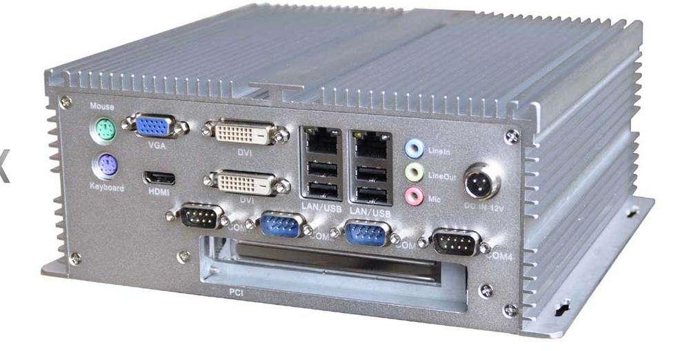 嵌入式工控机 无风扇工控机 那么作为工业级的网络利器