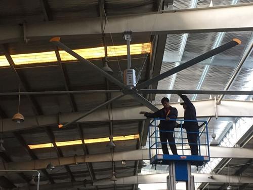 北京通風除濕大吊扇3米大直徑吊扇 承諾守信 上海愛樸環保科技供應