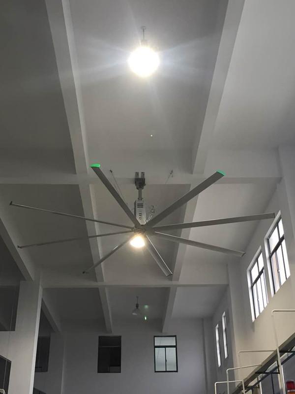 浙江6.1米大型风扇厂房专用 铸造辉煌 上海爱朴环保科技供应