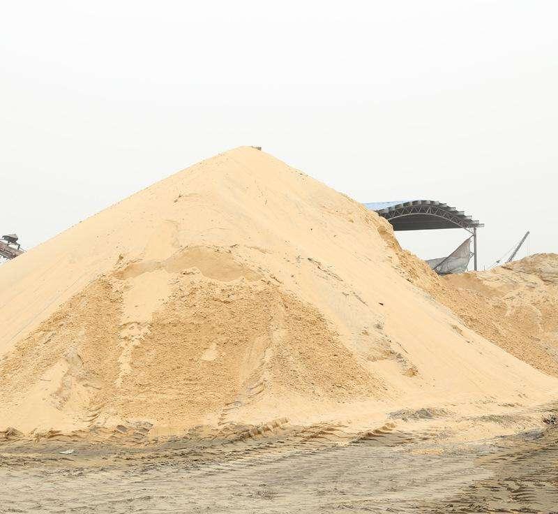 烏魯木齊縣批發沙子廠家報價 恒福建材供應
