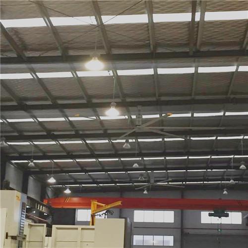 安徽6.7米无刷直流吊扇,仓库降温风扇超大电风扇大直径吊扇 服务为先 上海爱朴环保科技供应