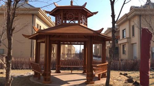 福建便宜的防腐木葡萄架「漳州市創景園林景觀工程供應」