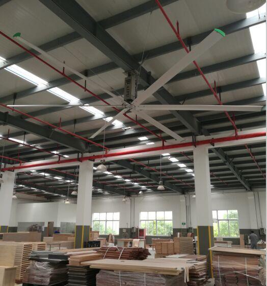云南4米直径省电,5米节能吊扇工业吊扇通风换气