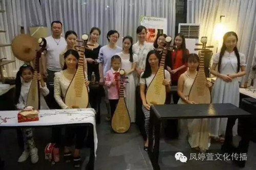 琵琶培训辅导班 厦门市凤婷萱文化传播供应