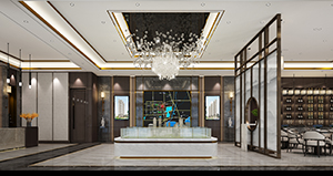 河南酒店中式装修 河南传世金阁装饰工程有限公司