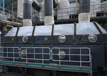 河南氨基磺酸专用振动流化床干燥机,流化床