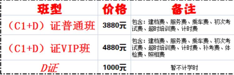 郑州考驾照价格