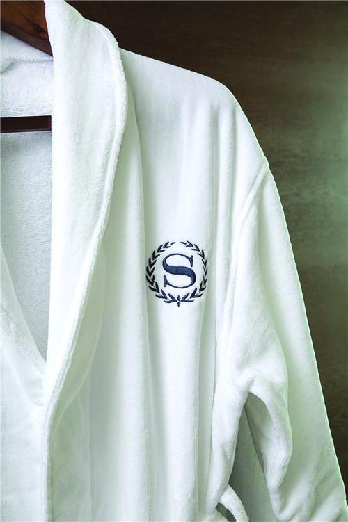 南通酒店浴袍厂家 南通德尔馨纺织品供应