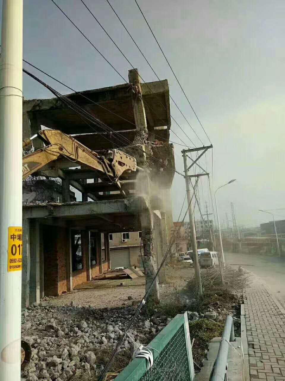 厦门房屋拆除工程承接 厦门建军协城建筑工程供应