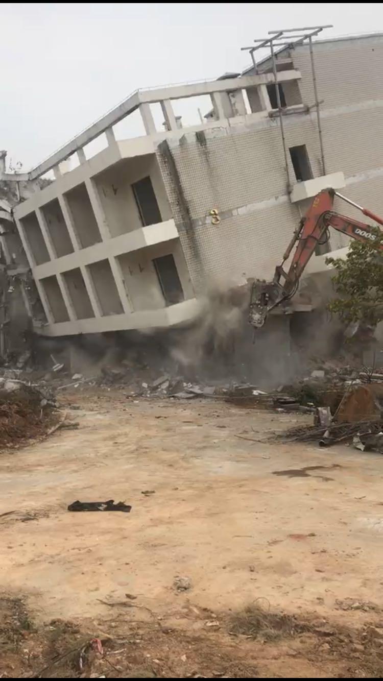 房屋拆除工程施工 厦门建军协城建筑工程供应