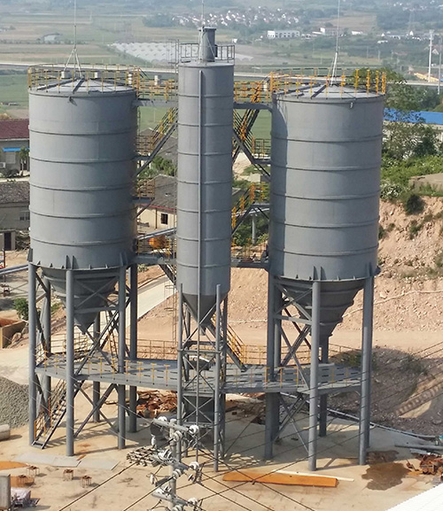 扬州专业料仓安装 盐城市顺驰安装工程供应