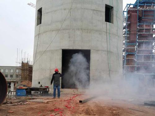 淮安钢烟囱安装施工方案 盐城市顺驰安装工程供应