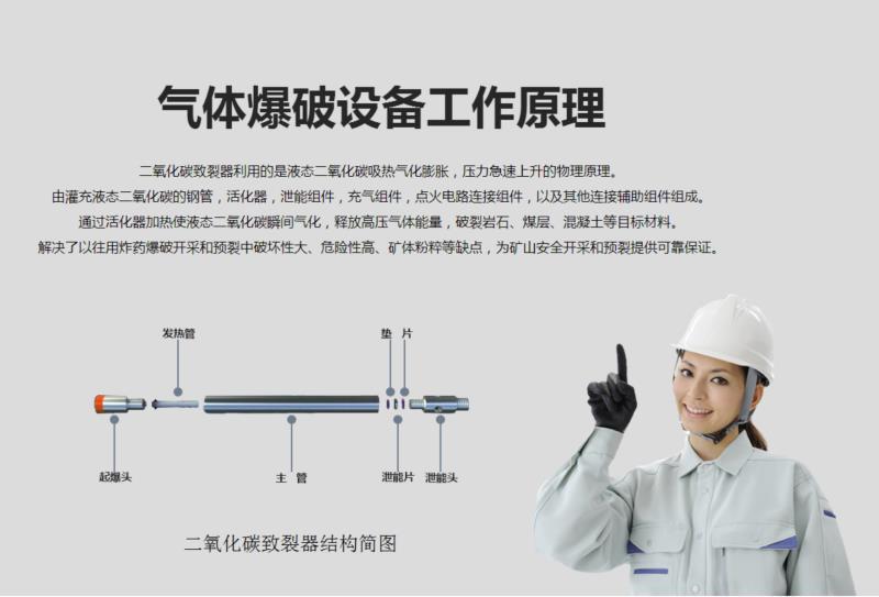 浙江专业液态CO2相变致裂全国发货 抱诚守真 温岭市凯盛机械设备供应