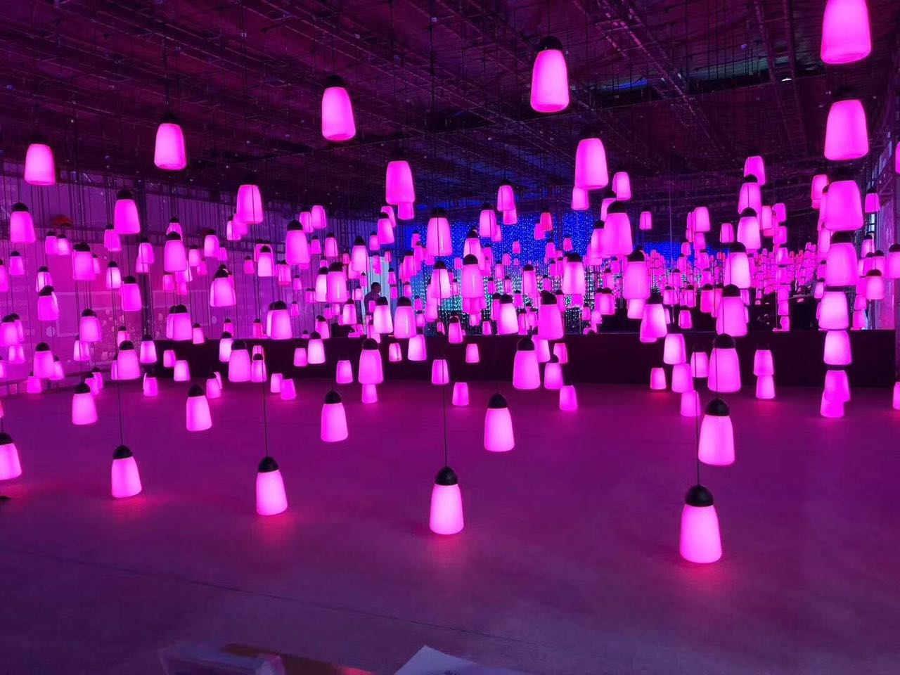 江西呼吸之光出租光影展产品出租灯光艺术装置,光影展产品出租