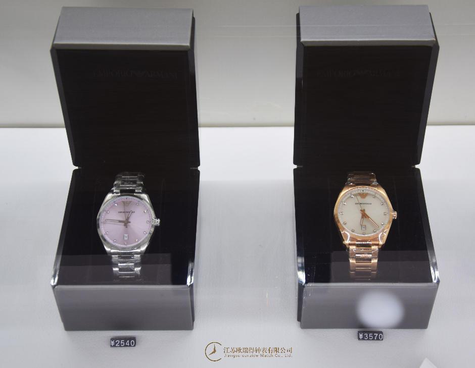 金湖修阿玛尼手表,手表