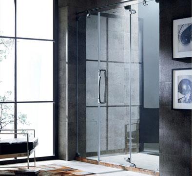 昆明卫生间玻璃门图片,玻璃门