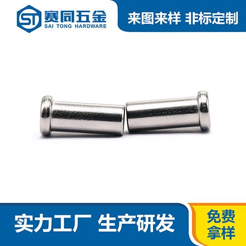 广东正规304不锈钢平头铆钉 东莞市赛同五金制品供应