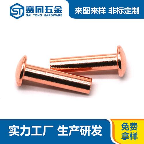 广东专业紫铜铆钉厂家