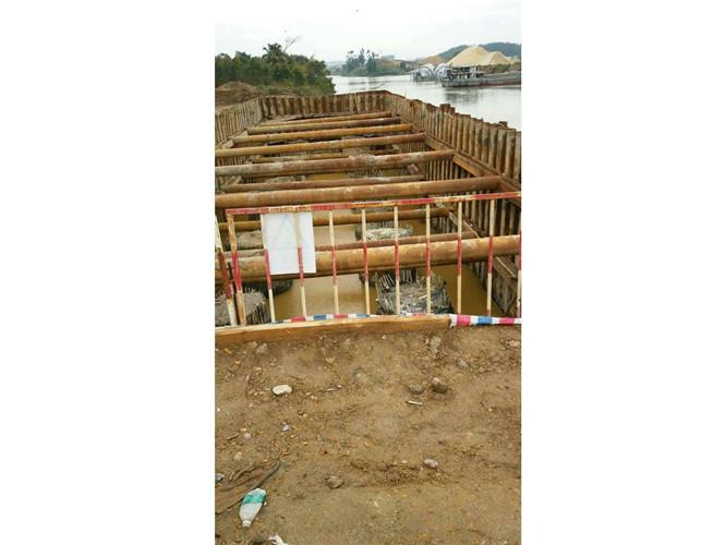 厦门拉森钢板桩工程施工,钢板桩