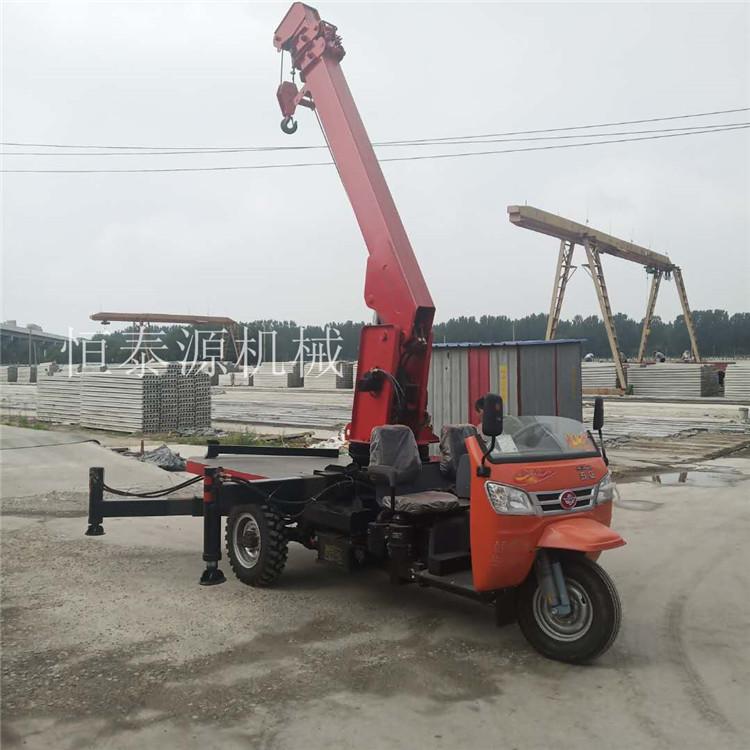 四川园林移树吊3吨三轮随车吊价格表 创新服务 济宁市恒泰源工程机械供应