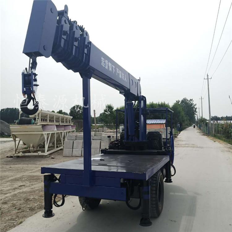 山西山区拉木材用三轮随车吊电话 来电咨询 济宁市恒泰源工程机械供应