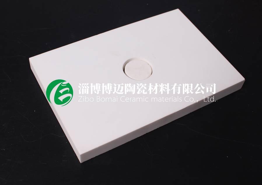 浙江矿山防磨耐磨陶瓷衬片定制 淄博博迈陶瓷材料供应