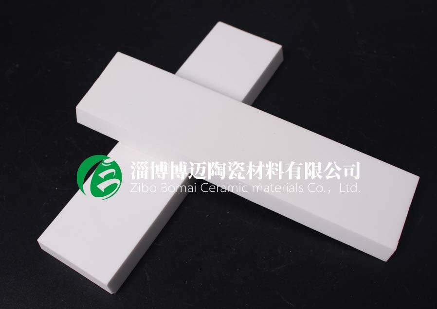 贵州干灰风机机壳耐磨陶瓷衬板规格 淄博博迈陶瓷材料供应