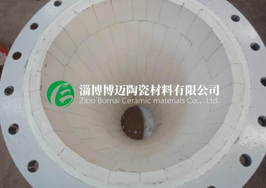 四川電廠高溫風管耐磨陶瓷管道彎頭訂購