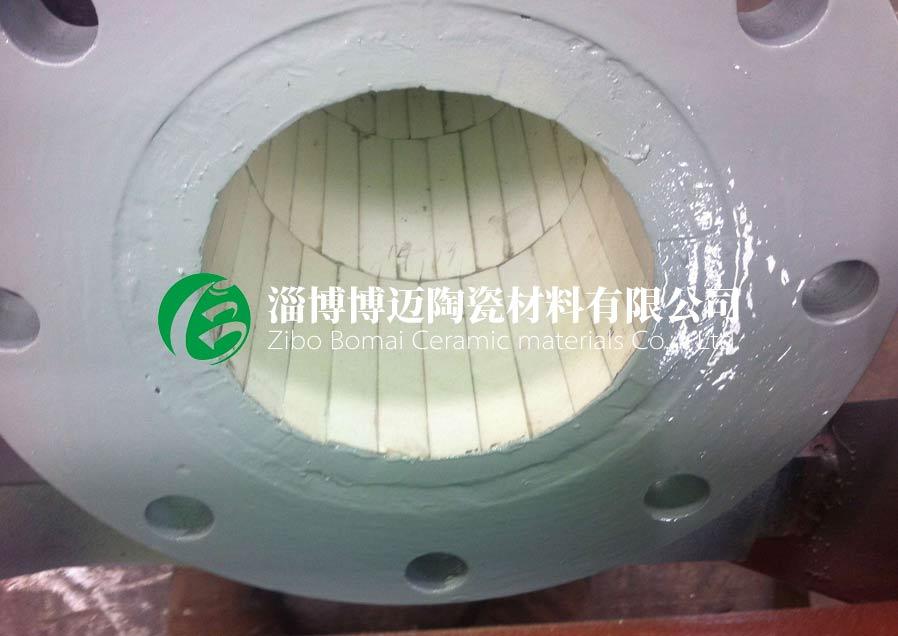 吉林高铝耐磨陶瓷管道弯头黄页 客户至上 淄博博迈陶瓷材料供应