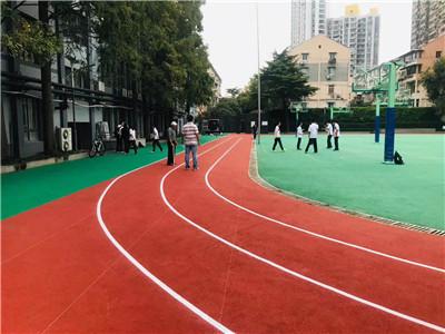 秦淮区混合型塑胶跑道厂家报价「上海科保体育设备供应」