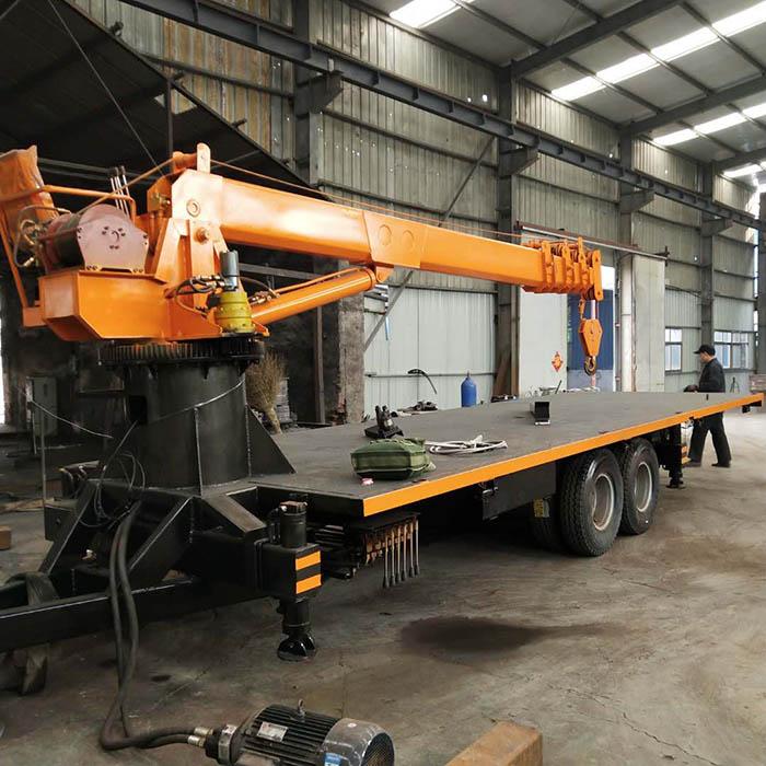 山东拉板房用拖拉机平板吊价格 济宁久征工程机械供应