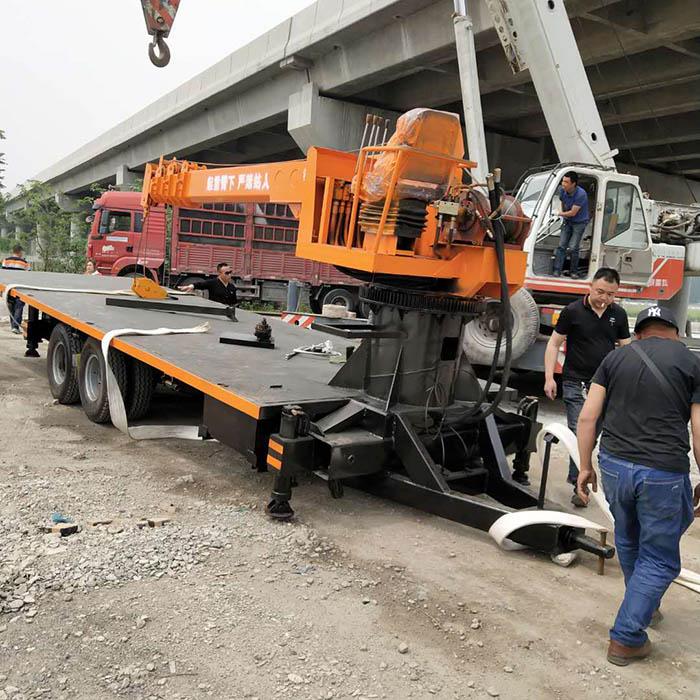 湖北改装楼板拖拉机平板吊的用途和特点 济宁久征工程机械供应