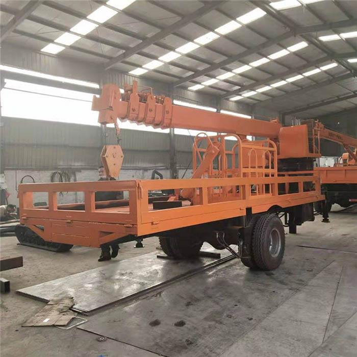 河南厂家直销拖拉机平板吊价格 济宁久征工程机械供应