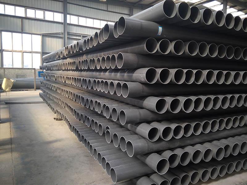 青岛PVC-U给水管材多少钱 淄博齐泰武峰塑业供应