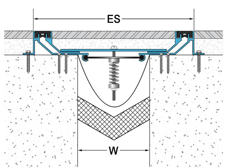江苏建筑铝合金地面变形缝安装方法 欢迎咨询 江苏君轩建材供应