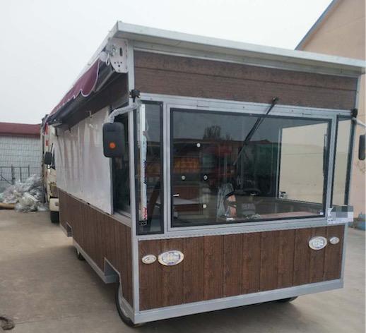 河北正规太阳能餐车,太阳能餐车