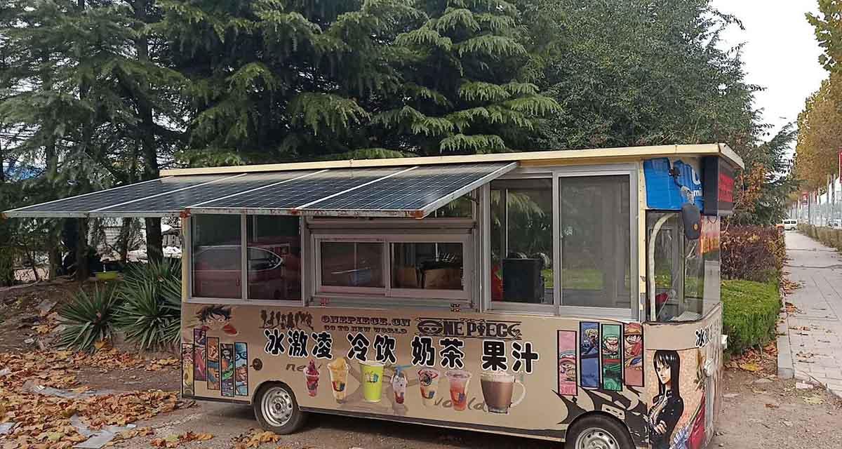 黑龍江太陽能發電餐車市場前景如何 服務為先「高密市嘉紅機械科技供應」