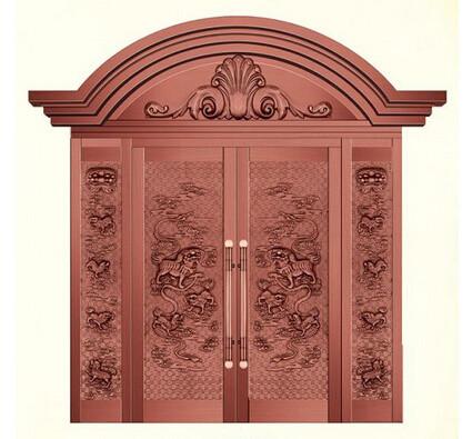 芜湖单开铜门制造厂,铜门