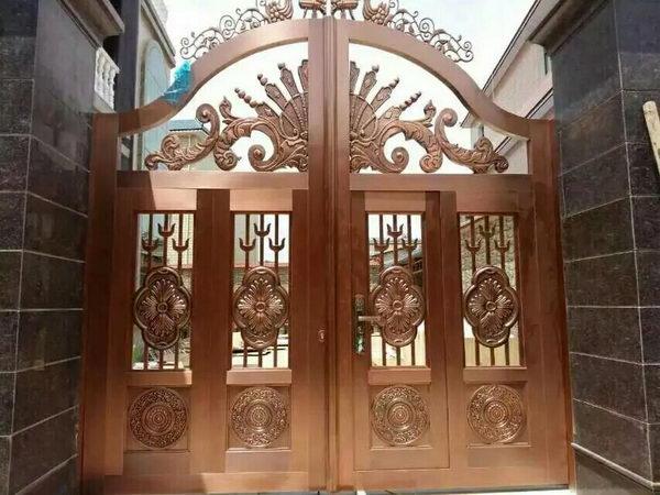 淮安单开铜门加工厂 信息推荐 淮安市信和铜门供应