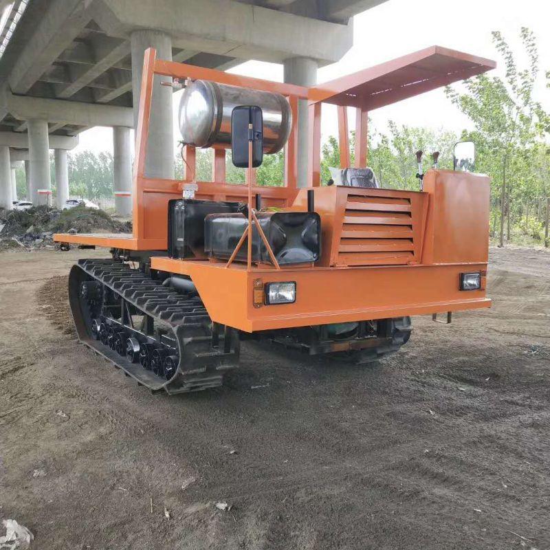 湖北4吨履带专业稻草运输车履带运输车报价 欢迎来电 济宁力征工程机械供应