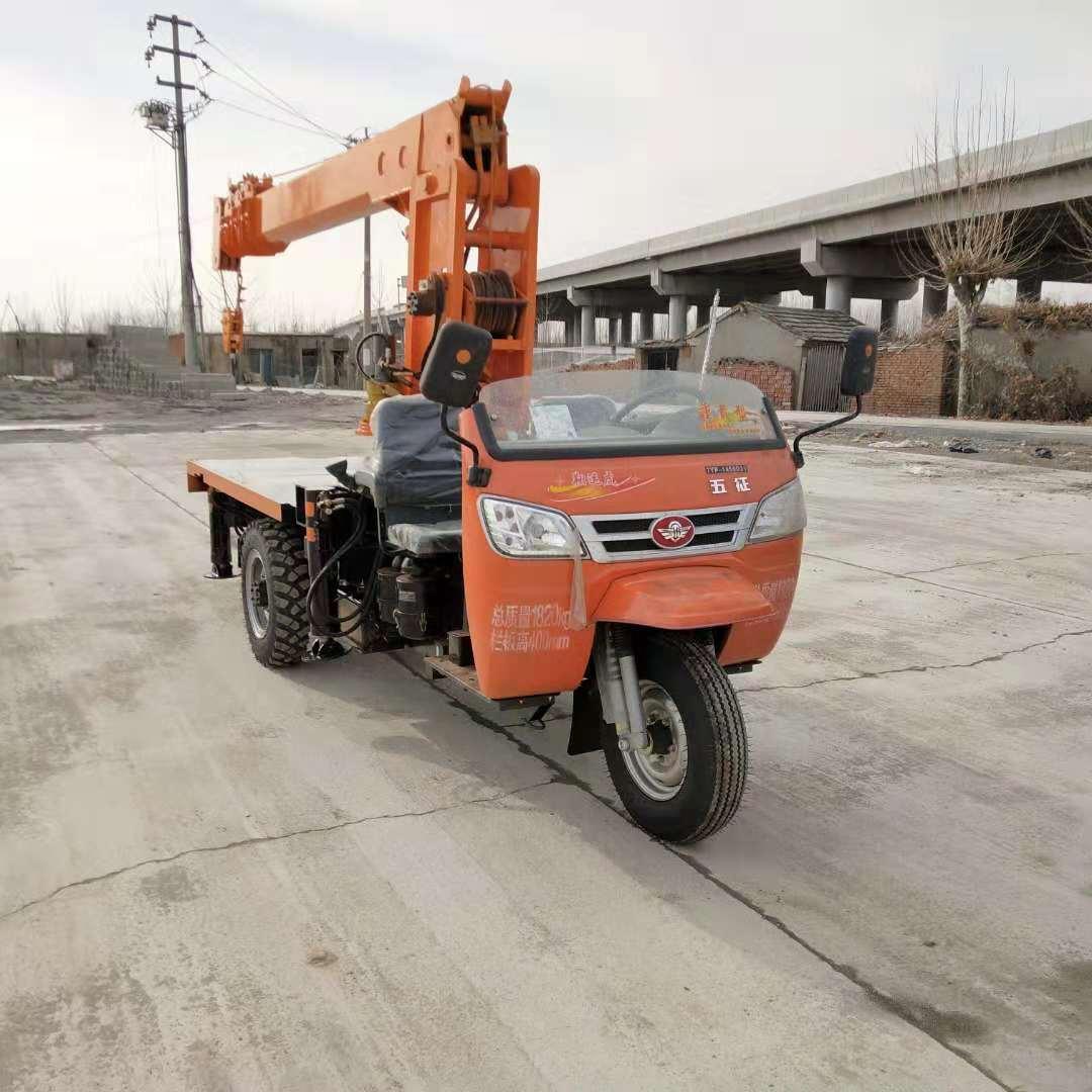 青海三輪隨車吊價格 濟寧力征工程機械供應
